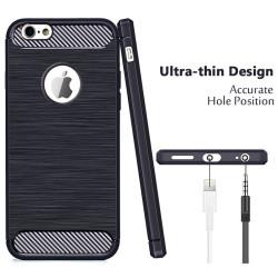 Apple iPhone 6 Kılıf Zore Room Silikon Kapak - Thumbnail