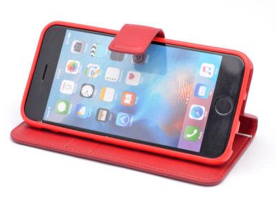 Apple iPhone 7 Kılıf Zore New Delüxe Kapaklı Standlı Kılıf