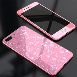 Apple iPhone 7 Plus Kılıf Voero Desenli 360 Magnet Case - Thumbnail