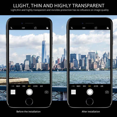 Apple iPhone 8 Zore Kamera Lens Koruyucu Cam Filmi