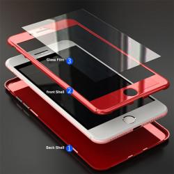 Apple iPhone SE 2020 Kılıf Voero Desenli 360 Magnet Case - Thumbnail