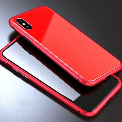 Apple iPhone X Kılıf Voero 360 Magnet Case