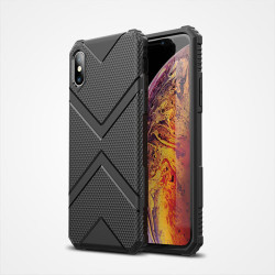 Apple iPhone X Kılıf Zore Hank Silikon - Thumbnail
