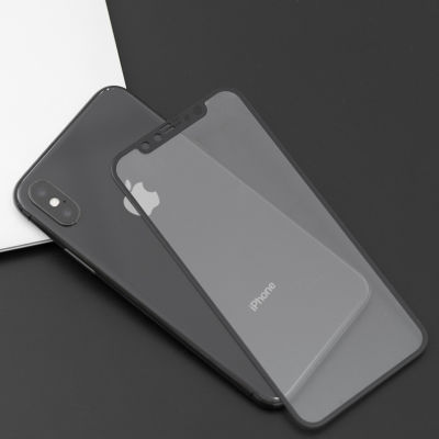 Apple iPhone XR 6.1 5D Privacy Cam Ekran Koruyucu