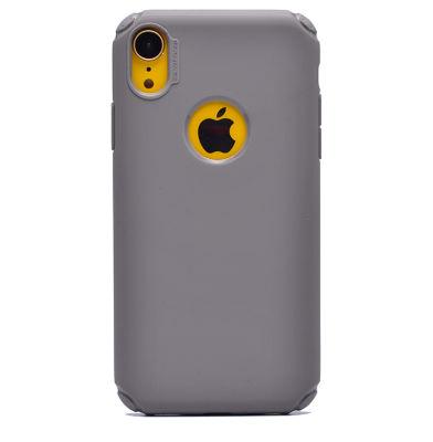 Apple iPhone XR 6.1 Kılıf Zore Stop Silikon