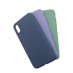 Apple iPhone XS Max 6.5 Kılıf Zore Silk Silikon - Thumbnail