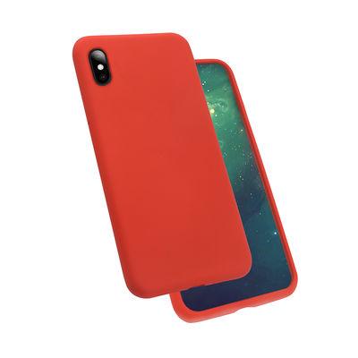 Apple iPhone XS Max 6.5 Kılıf Zore Silk Silikon