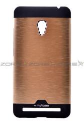 Asus Zenfone 5 Kılıf Zore Metal Motomo Kapak - Thumbnail