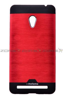 Asus Zenfone 5 Kılıf Zore Metal Motomo Kapak