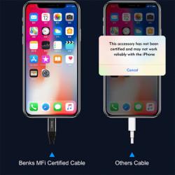 Benks M11 PD MFI Lightning Cable 1.2M - Thumbnail