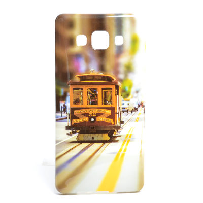 Galaxy A5 Kılıf Zore Şehirli Desenli Silikon