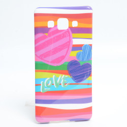 Galaxy A5 Kılıf Zore Şehirli Desenli Silikon - Thumbnail