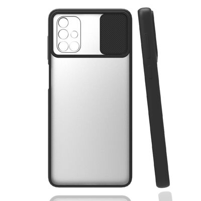 Galaxy A51 Kılıf Zore Lensi Kapak