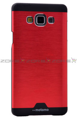 Galaxy A7 Kılıf Zore Metal Motomo Kapak