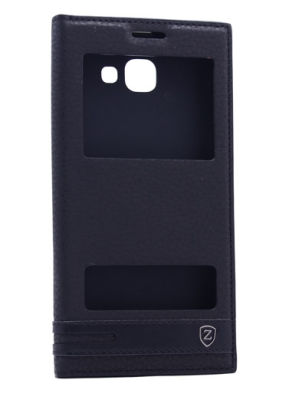 Galaxy C9 Pro Kılıf Zore Elite Kapaklı Kılıf