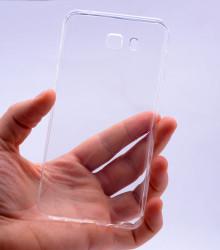 Galaxy C9 Pro Zore Ultra İnce Silikon Kapak 0.2 mm - Thumbnail