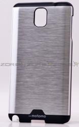 Galaxy Note 3 Kılıf Zore Metal Motomo Kapak - Thumbnail