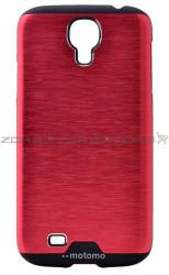 Galaxy S4 Kılıf Zore Metal Motomo Kapak - Thumbnail
