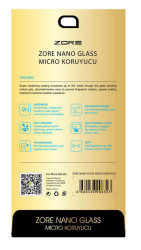 Galaxy Tab A T580 10.1 Zore Nano Micro Temperli Ekran Koruyucu - Thumbnail