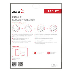 Galaxy Tab S3 9.7 T820 Zore Tablet Blue Nano Screen Protector - Thumbnail