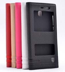 Huawei GR3 Kılıf Zore Elite Kapaklı Kılıf - Thumbnail