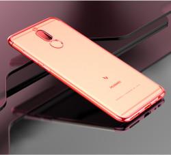 Huawei Mate 10 Lite Kılıf Zore Dört Köşeli Lazer Silikon - Thumbnail