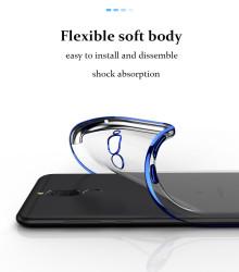 Huawei Mate 10 Lite Kılıf Dört Köşeli Lazer Silikon - Thumbnail