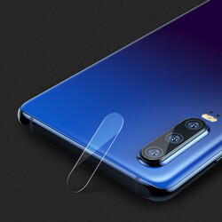 Huawei P30 Benks Full Kamera Lens Koruyucu Film - Thumbnail