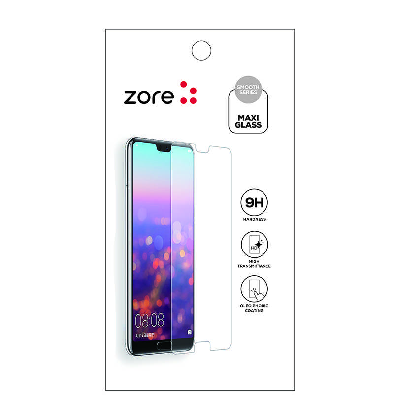 Huawei P30 Lite Zore Maxi Glass Temperli Cam Ekran Koruyucu