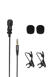 Jmary MC-R1 Canlı Yayın Yaka Mikrofon - Thumbnail