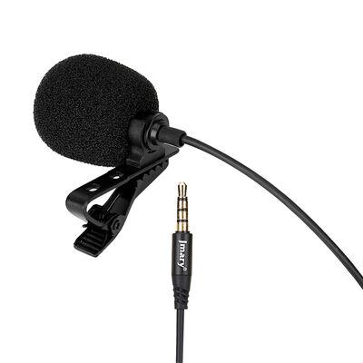 Jmary MC-R1 Canlı Yayın Yaka Mikrofon