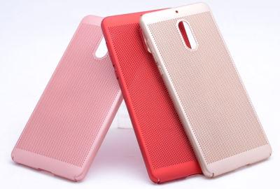 Nokia 6 Kılıf Delikli Rubber Kapak