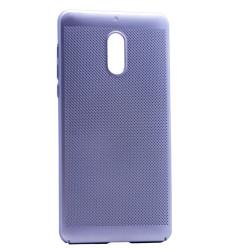 Nokia 6 Kılıf Delikli Rubber Kapak - Thumbnail