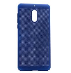 Nokia 6 Kılıf Zore Delikli Rubber Kapak - Thumbnail