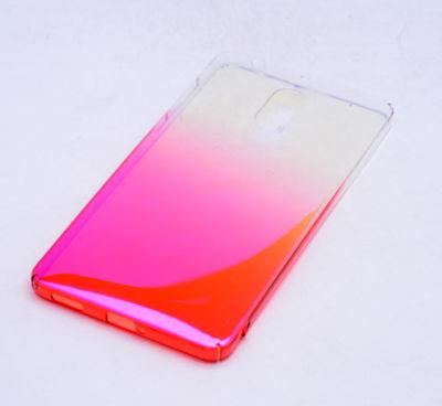 Nokia 6 Kılıf Zore Renkli Tranasparan Kapak