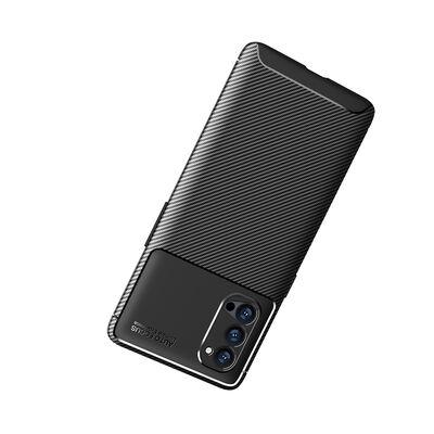 Oppo Reno 4 Pro 5G Kılıf Zore Negro Silikon
