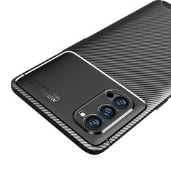 Oppo Reno 4 Pro 5G Kılıf Zore Negro Silikon - Thumbnail