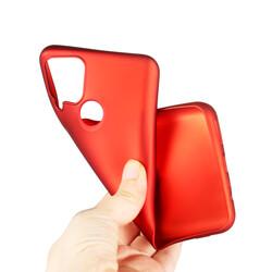 Realme C25 Kılıf Zore Premier Silikon - Thumbnail