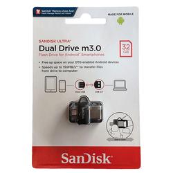 Sandisk Dual Drive 32 GB M3.0 Micro OTG Flash Disk - Thumbnail