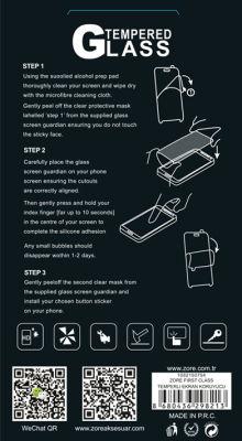 Sony Xperia C5 Ultra Zore Temperli Cam Ekran Koruyucu