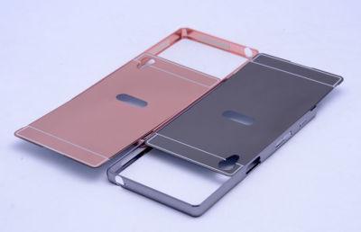 Sony Xperia XA Ultra Kılıf Zore Aynalı Bumper