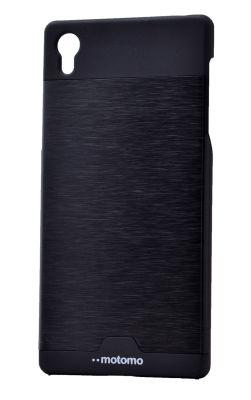 Sony Xperia Z5 Kılıf Zore Metal Motomo Kapak