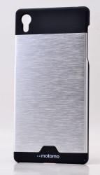 Sony Xperia Z5 Kılıf Zore Metal Motomo Kapak - Thumbnail
