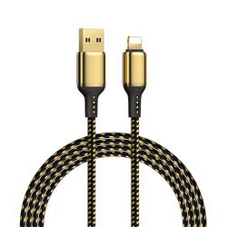 Wiwu Golden Series GD-100 Lightning Data Cable 1.2M - Thumbnail