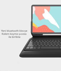 Wiwu Keyboard Folio Kablosuz Klavyeli Kılıf - Thumbnail
