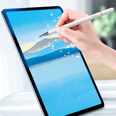 Wiwu Pencil Passive Stylus 2 in 1 Dokunmatik Çizim Kalemi