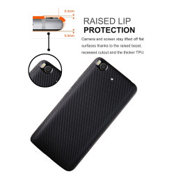 Xiaomi Mi 5S Kılıf İ-Zore Karbon Silikon - Thumbnail