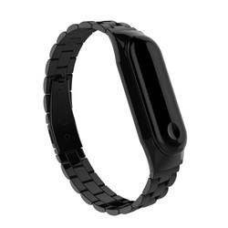 Xiaomi Mi Band 3 KRD-05 Metal Kordon - Thumbnail