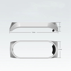 Xiaomi Mi Band 3 KRD-06 Metal Kordon - Thumbnail