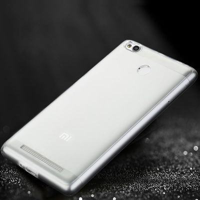 Xiaomi Redmi 3S Kılıf Zore Ultra İnce Silikon Kapak 0.2 mm